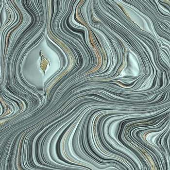 Agate stone texture with gold. Fluid marbling effect. Abstract Agate Background. Illustration