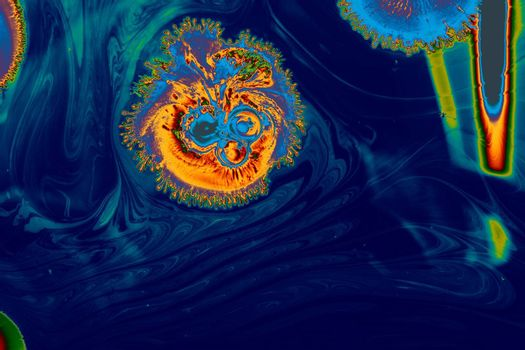 marbling art patterns as abstract colorful background