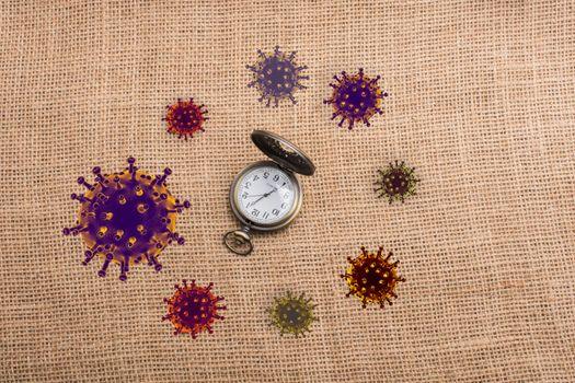 Stop COVID-19 Corona virus global outbreak pandemic disease