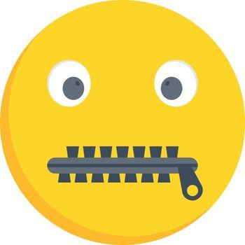 zipper mouth