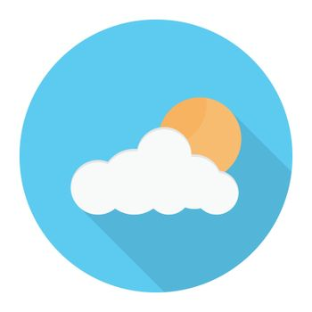 weather vector colour flat icon