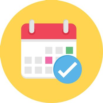 calendar tick