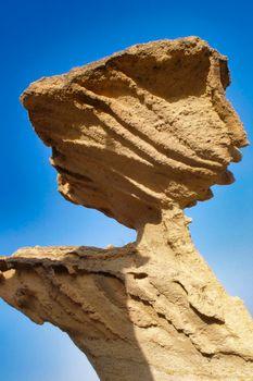 Erosions of Bolnuevo, Natural Heritage of Region of Murcia, Spain