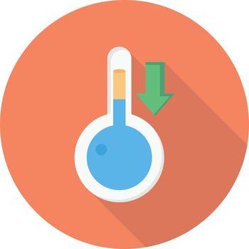 temperature down
