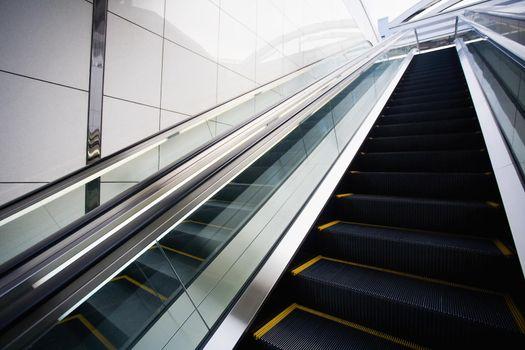 Empty Escalators