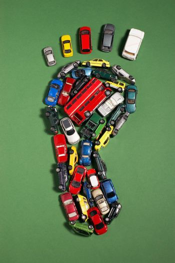 Carbon footprint of toy cars