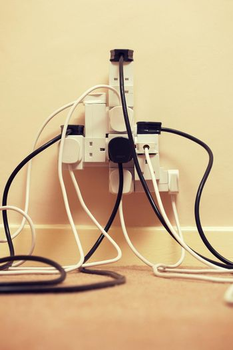 Overloaded multi extension plug
