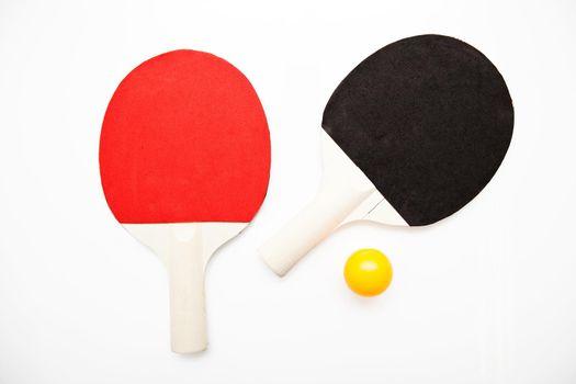 Ping Pong Bat and Balls