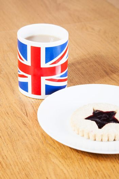 British Tea and Star Cookie