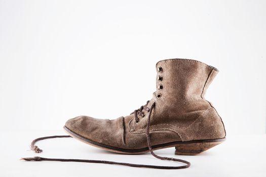 Vintage Well worn brown boots