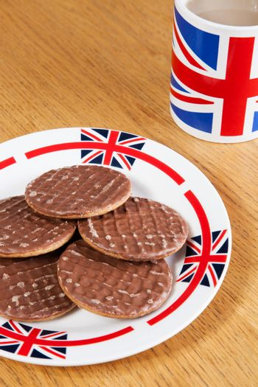 English Tea biscuit break