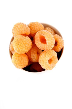 Orange raspberries