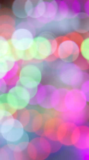 Vertical bokeh lights multicolored abstract fun.