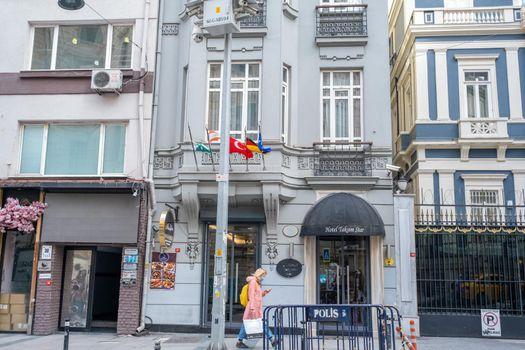 Taksim Hotel Star in Siraselviler street, 150 feet away from Istiklal Avenue in Taksim