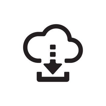 Download vector icon illustration