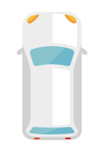 car (view from above) icon