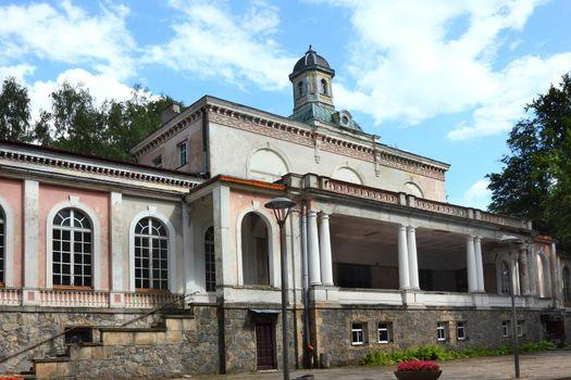 Old SPA resort in Ladek Zdroj Poland