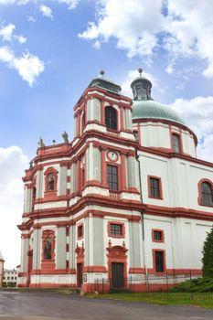 Christian temple in Jablonne v Podjestedi