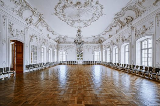 The White Hall of Rundale Palace