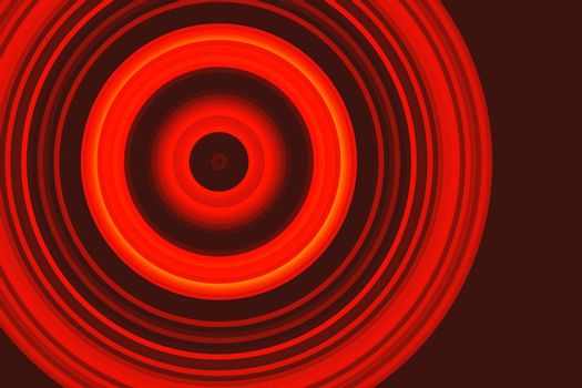 Colorful abstract background with circular lines