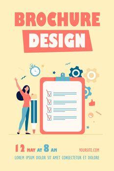 Checklist or survey concepts