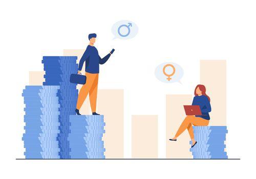 Earnings gender discrimination