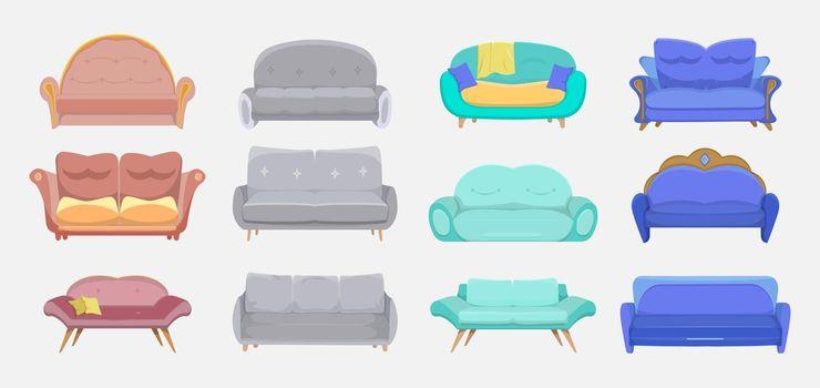 Modern couches set