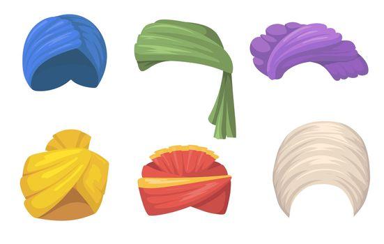Traditional turbans set