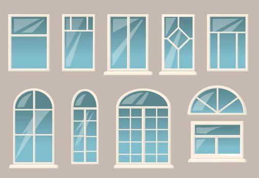 Various windows set