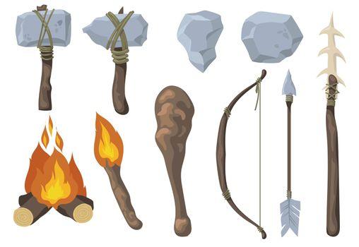 Neanderthal primitive rock weapon