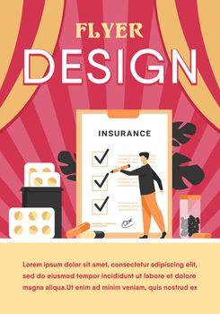 Health insurance agreement