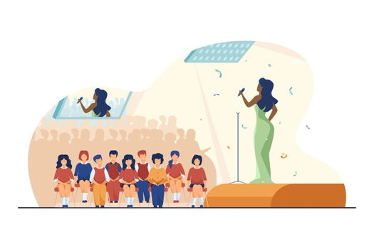 Concert for schoolchildren