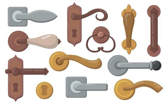 Door handles set