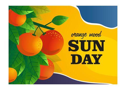 Orange mood cover design