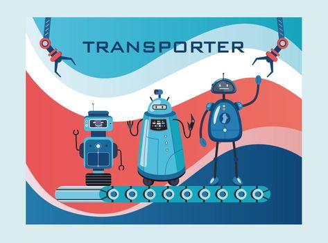 Robots transporter cover design