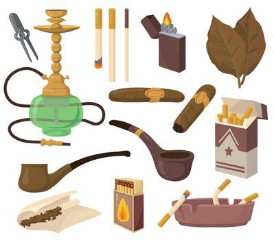 Smoking accessories set