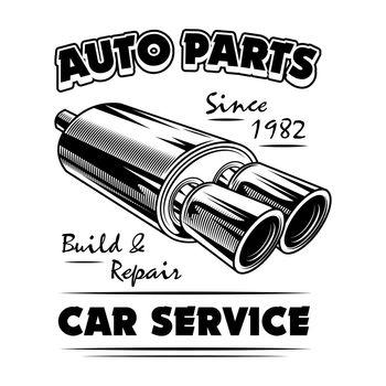Auto parts vector illustration
