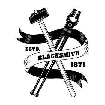 Blacksmiths instrument vector illustration