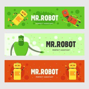 Mr. Robot banners set