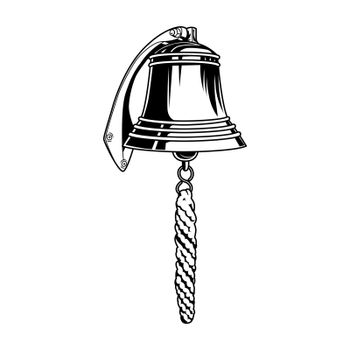 Nautical bell vector illustration