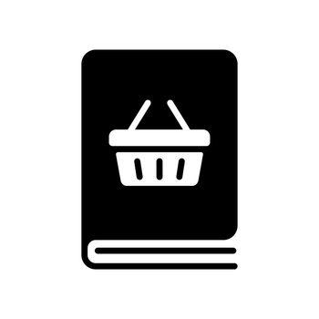 Catalog product vector flat glyph icon