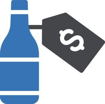 wine price tag