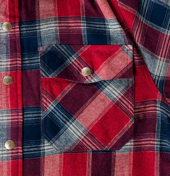 Full frame of plaid shirt for Fathers Day holiday background