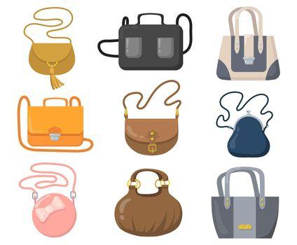 Luxury handbags set