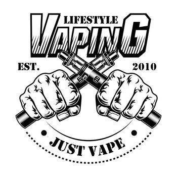 E-cigarettes vector illustration