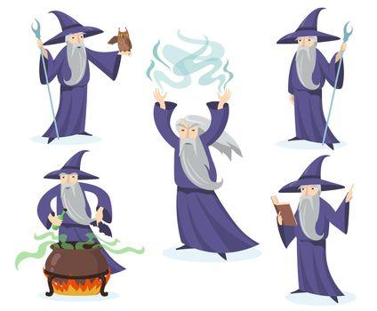Medieval magician set
