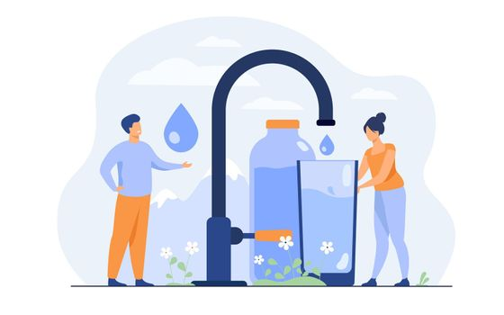 Pure fresh water concept