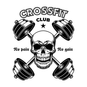 Hard athletic gym badge
