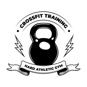 Hard crossfit badge
