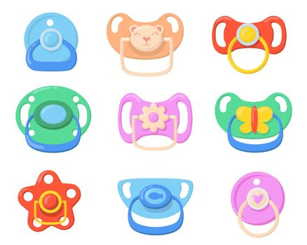 Pacifiers for babies set